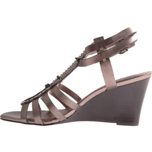 Women's Vince Camuto Brianne Gunmetal Metallic Leather - Thumbnail 2