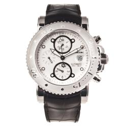 Montblanc Men's 'Sport Chronograph' Leather Automatic Watch