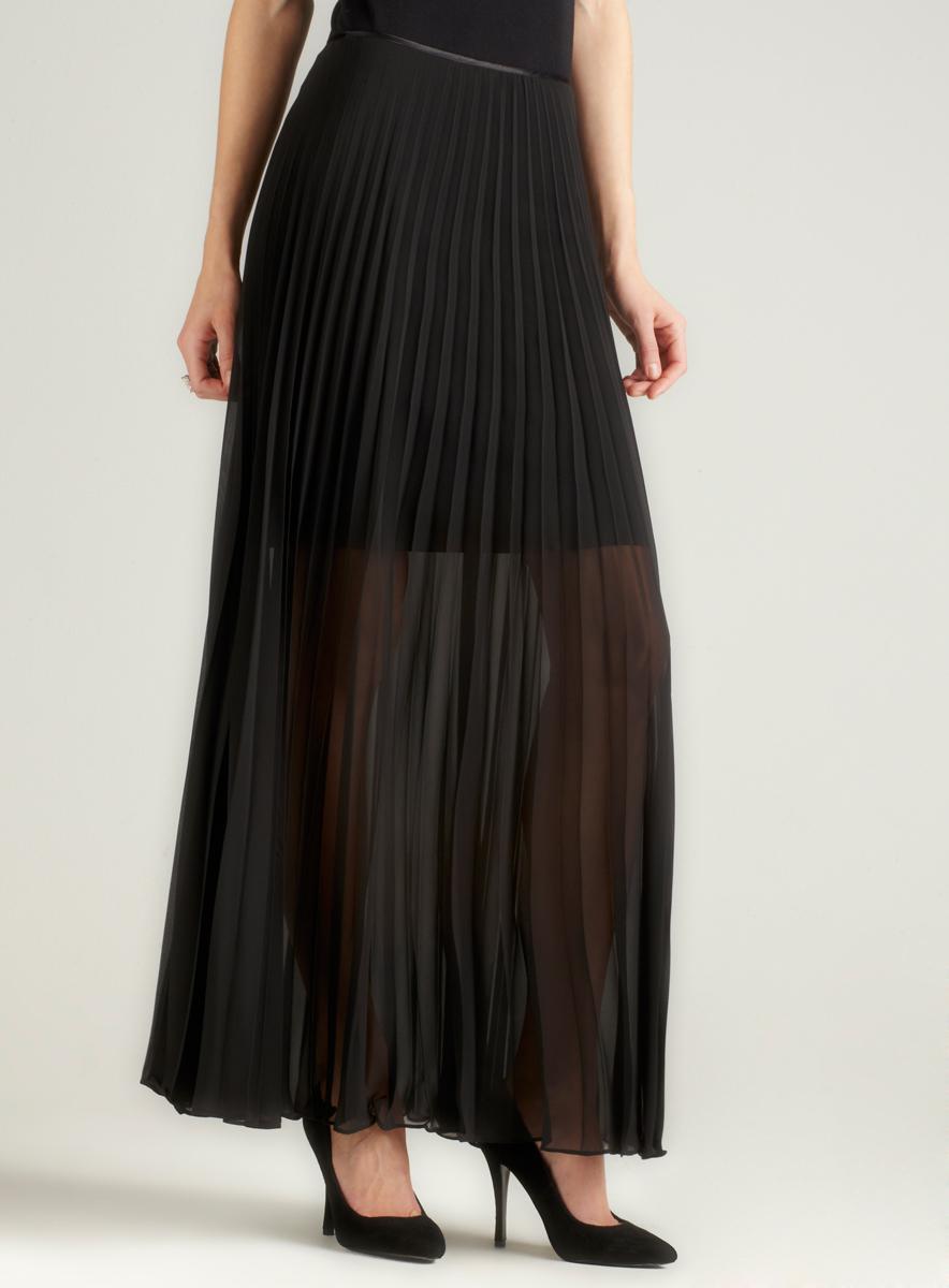 Marina Pleated Long Skirt