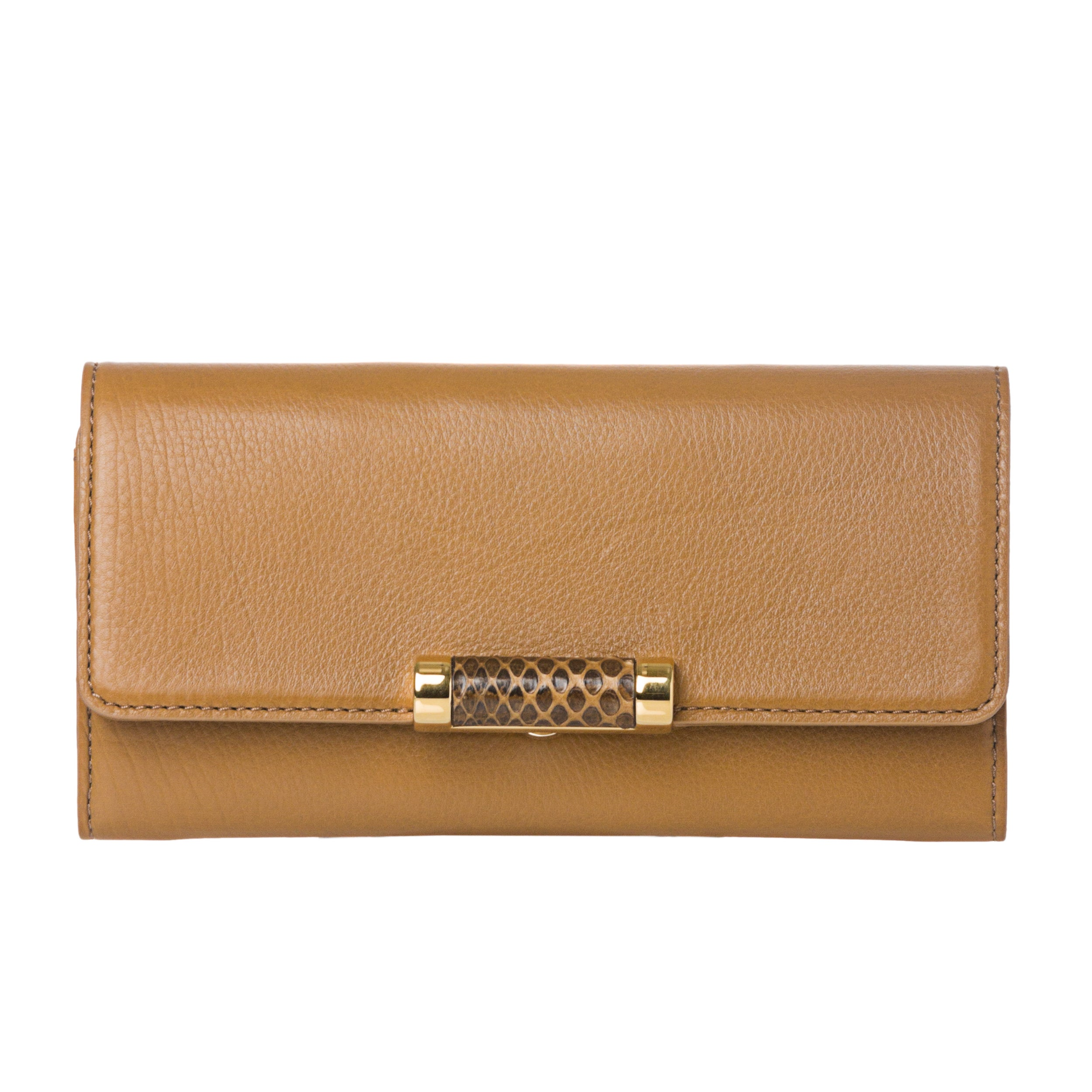 Michael Kors 'Tonne' Camel Leather Continental Wallet