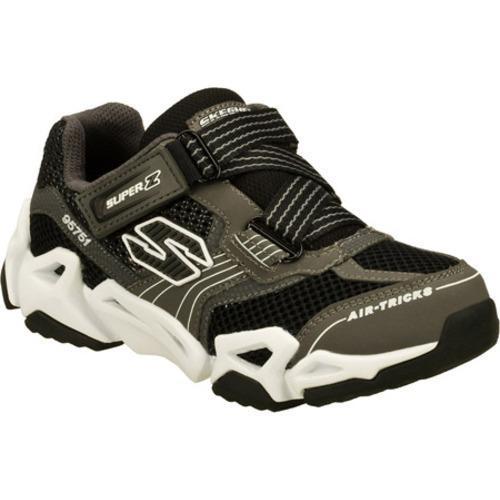 Boys' Skechers Air Tricks Fierce Flex Gravitron Gray/Black