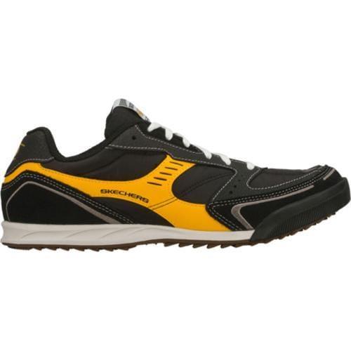 Men's Skechers Ascoli Thrive Black/Yellow - Thumbnail 1
