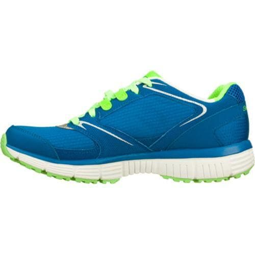 Women's Skechers Agility Rewind Blue/Green
