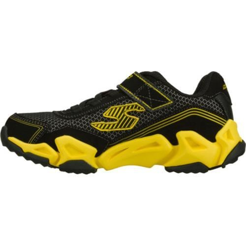 Boys' Skechers Air Tricks Fierce Flex Black/Yellow