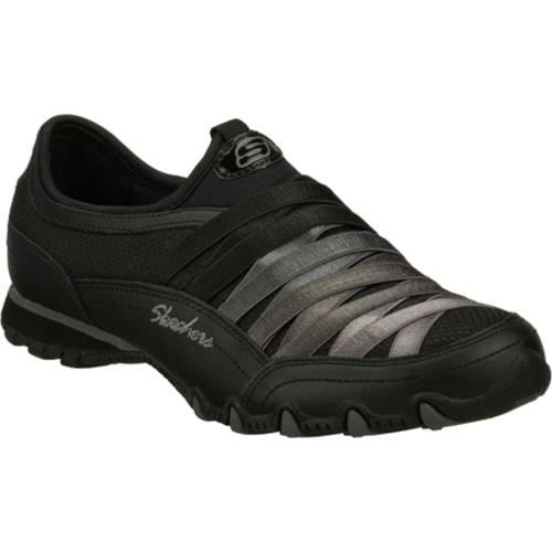 Women's Skechers Bikers Funhouse Black/Gray
