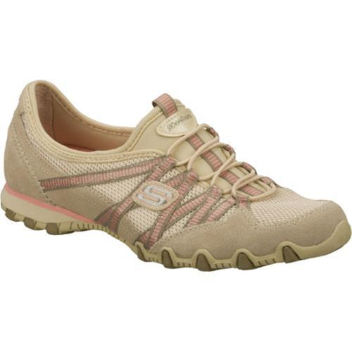 Women's Skechers Bikers Hot Ticket Natural/Brown - Thumbnail 0