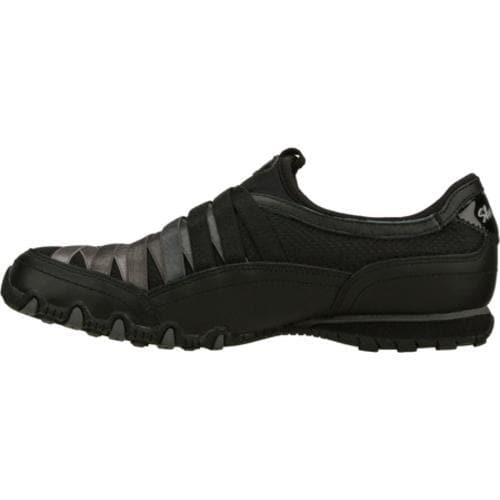 Women's Skechers Bikers Funhouse Black/Gray - Thumbnail 2