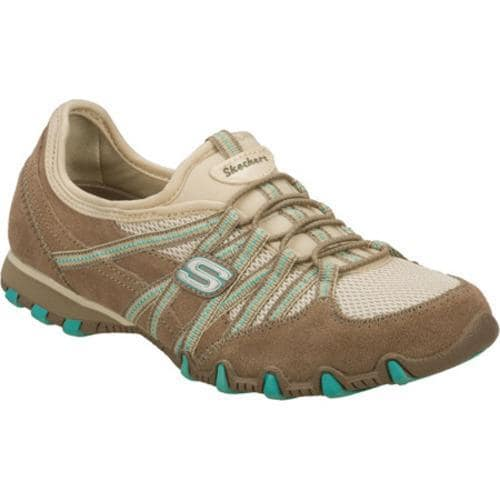 Women's Skechers Bikers Stereo Sound Brown/Natural