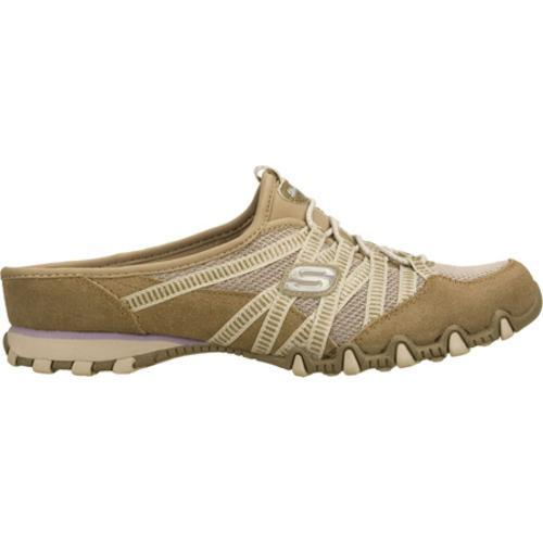 Women's Skechers Bikers Out and About Brown - Thumbnail 1
