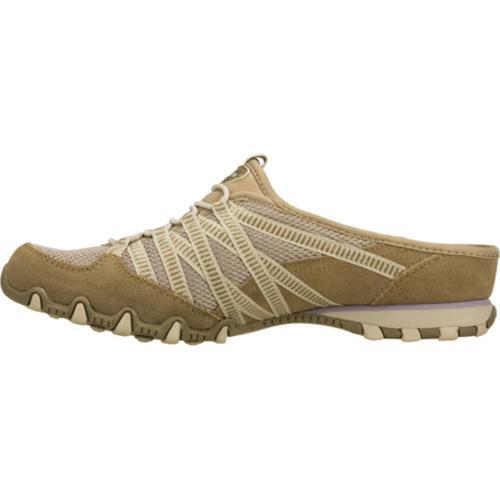 Women's Skechers Bikers Out and About Brown - Thumbnail 2