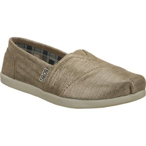Women's Skechers BOBS World Good Deeds Silver - Thumbnail 0