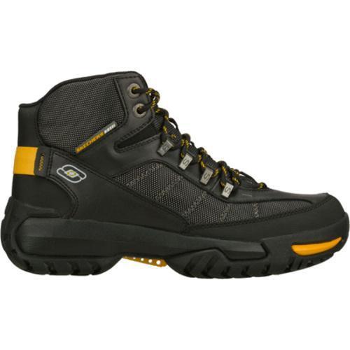 Men's Skechers Briggs Montes Black/Yellow