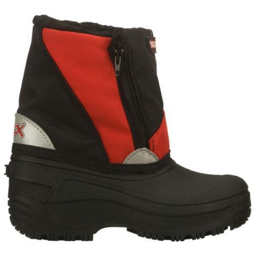 Boys' Skechers Brumal Carbuncle Black/Red - Thumbnail 1