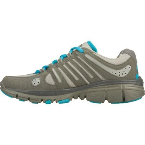 Women's Skechers Bravos Encore Gray/Blue - Thumbnail 2