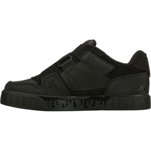Boys' Skechers Double Noll Cryptic Black/Black