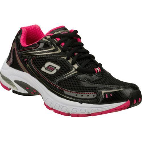 Women's Skechers Equilibrium Black/Pink