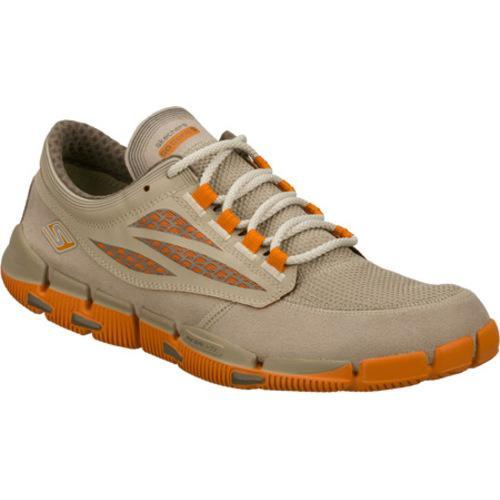 Men's Skechers GObionic Brown/Orange