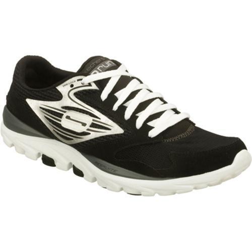 Men's Skechers GOrun Black/Silver