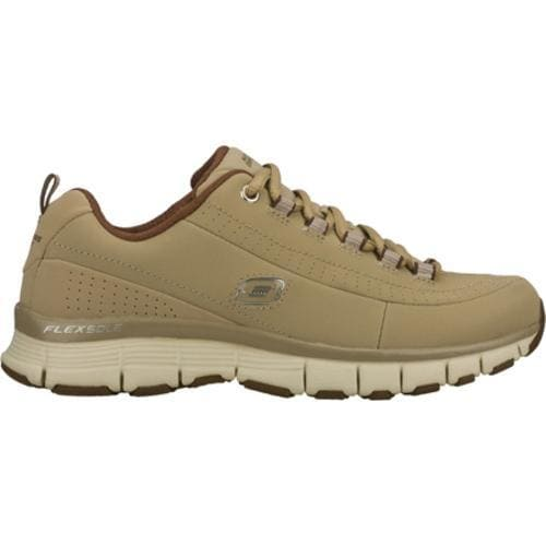 Women's Skechers Flex Fit High Demand Brown - Thumbnail 1