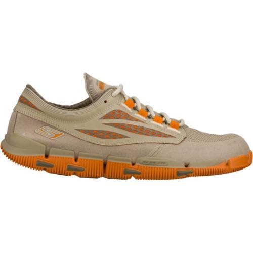 Men's Skechers GObionic Brown/Orange - Thumbnail 1