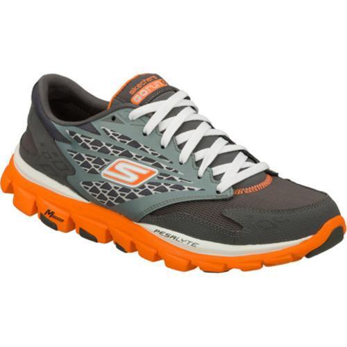 Men's Skechers GOrun Ride Gray/Orange