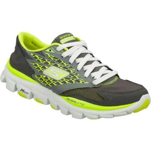 Women's Skechers GOrun Ride Gray/Green