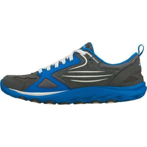 Men's Skechers GOtrain Gray/Blue