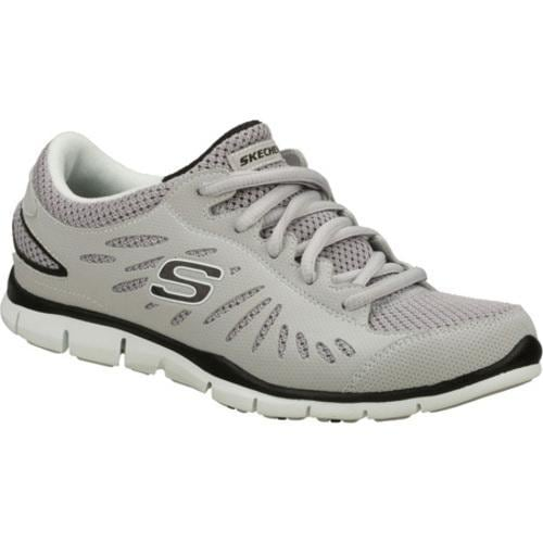 Women's Skechers Gratis Purestreet Gray - Thumbnail 0