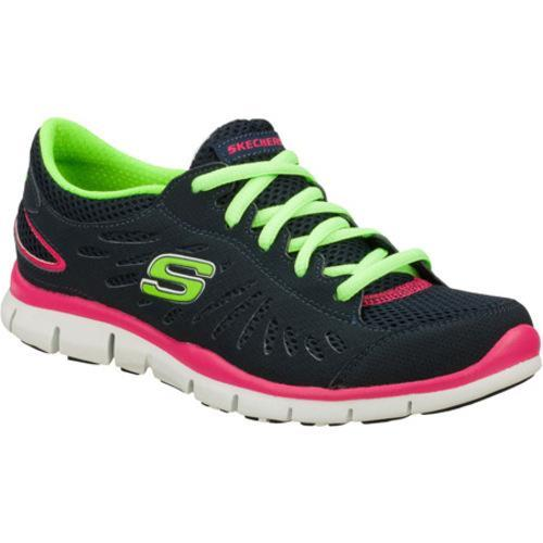 Women's Skechers Gratis Purestreet Navy/Multi