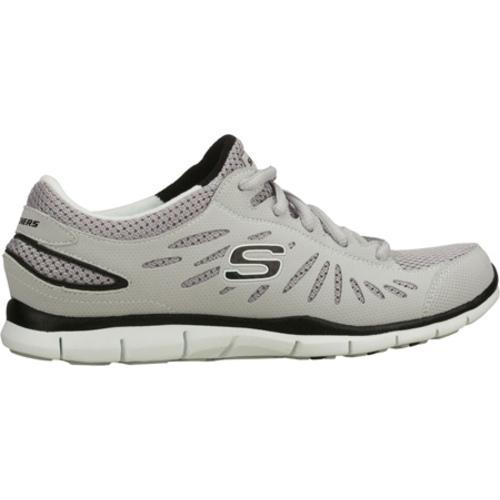 Women's Skechers Gratis Purestreet Gray - Thumbnail 1