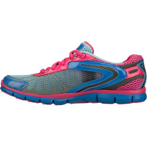 Women's Skechers Gratis Running Wild Blue/Pink