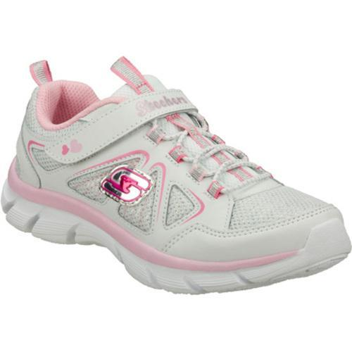 Girls' Skechers Lite Dreamz Dreamweaver White/Pink