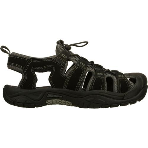 Men's Skechers Journeyman Safaris Black/Gray - Thumbnail 1