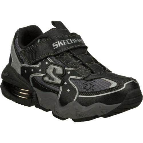 Boys' Skechers Mega Flex Alkali Zeeb Black/Gray