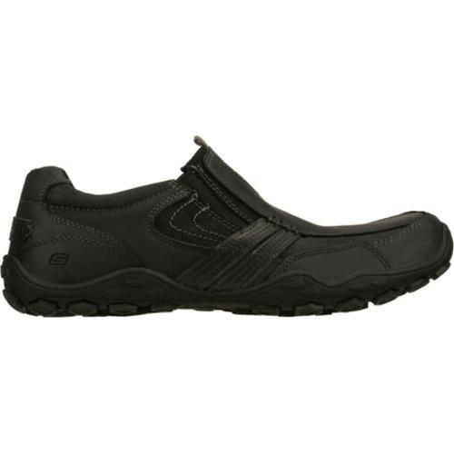 Men's Skechers Pebble Castor Black - Thumbnail 1