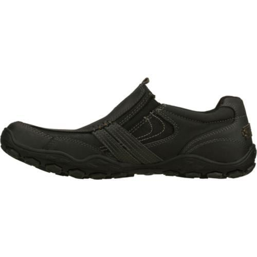 Men's Skechers Pebble Castor Black - Thumbnail 2