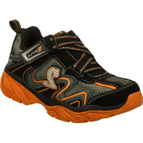 Boys' Skechers Ragged Motley Black/Orange