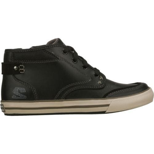 Boys' Skechers Planfix Effective Black - Thumbnail 1
