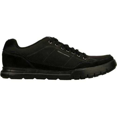 Men's Skechers Relaxed Fit Arcade II Amenity Black - Thumbnail 1