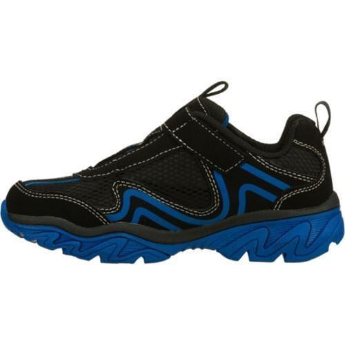 Boys' Skechers Ragged Somber Black/Blue - Thumbnail 2
