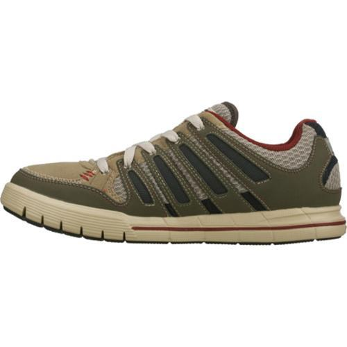 Men's Skechers Relaxed Fit Arcade II Olive/Gray