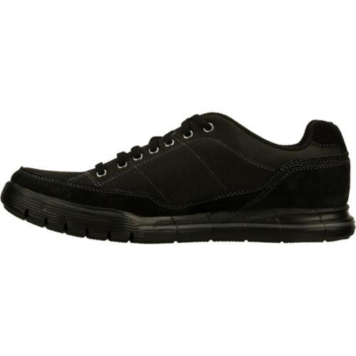 Men's Skechers Relaxed Fit Arcade II Amenity Black - Thumbnail 2