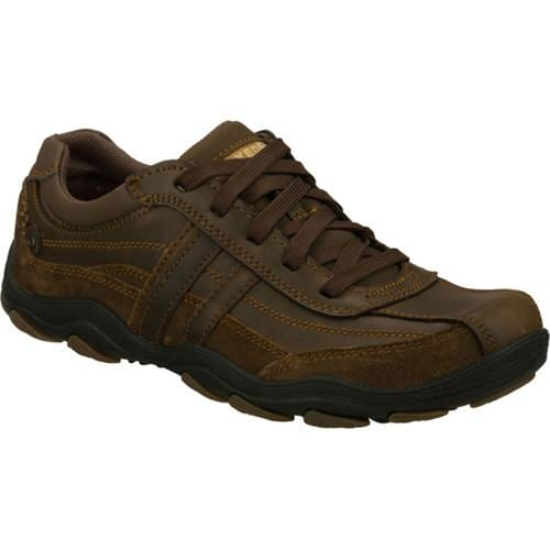 Men's Skechers Relaxed Fit Bolland Monitor Brown/Brown - Thumbnail 0