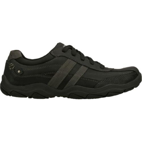 Men's Skechers Relaxed Fit Bolland Monitor Black - Thumbnail 1