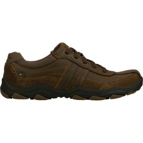 Men's Skechers Relaxed Fit Bolland Monitor Brown/Brown - Thumbnail 1