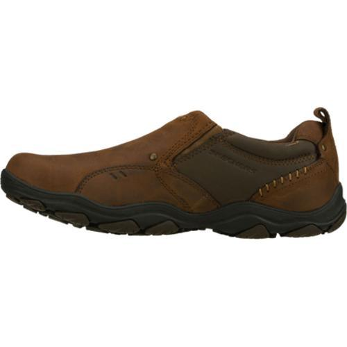 Men's Skechers Relaxed Fit Bolland Tailor Brown - Thumbnail 1