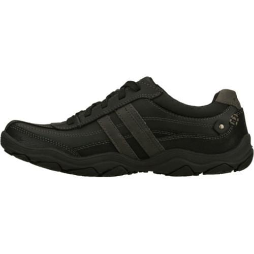 Men's Skechers Relaxed Fit Bolland Monitor Black - Thumbnail 2