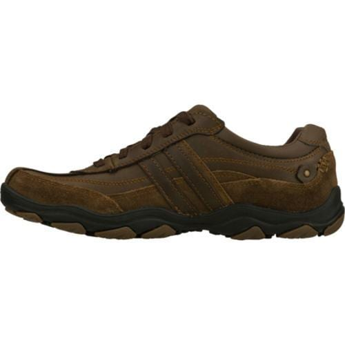 Men's Skechers Relaxed Fit Bolland Monitor Brown/Brown - Thumbnail 2