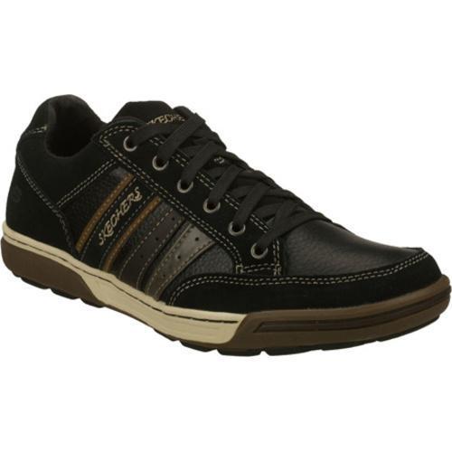 fd1a2daf8cbb Shop Men s Skechers Rogan Molino Black - Free Shipping Today -  Overstock.com - 7381224