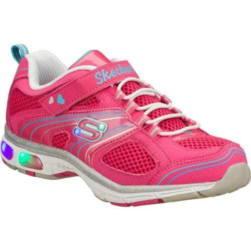 Girls' Skechers S Lights Light Ray Pink
